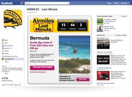 Airmiles Facebook