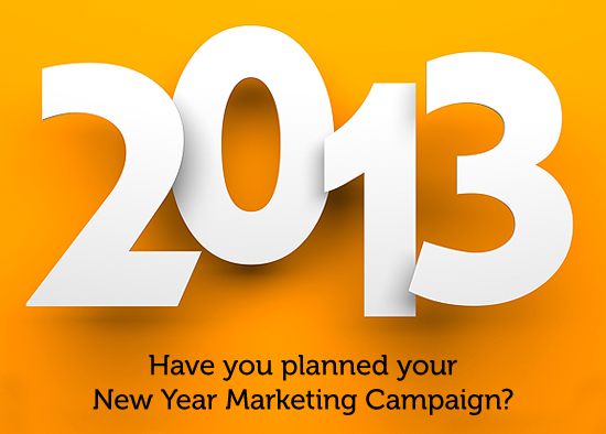 2013 New Year Marketing Plan
