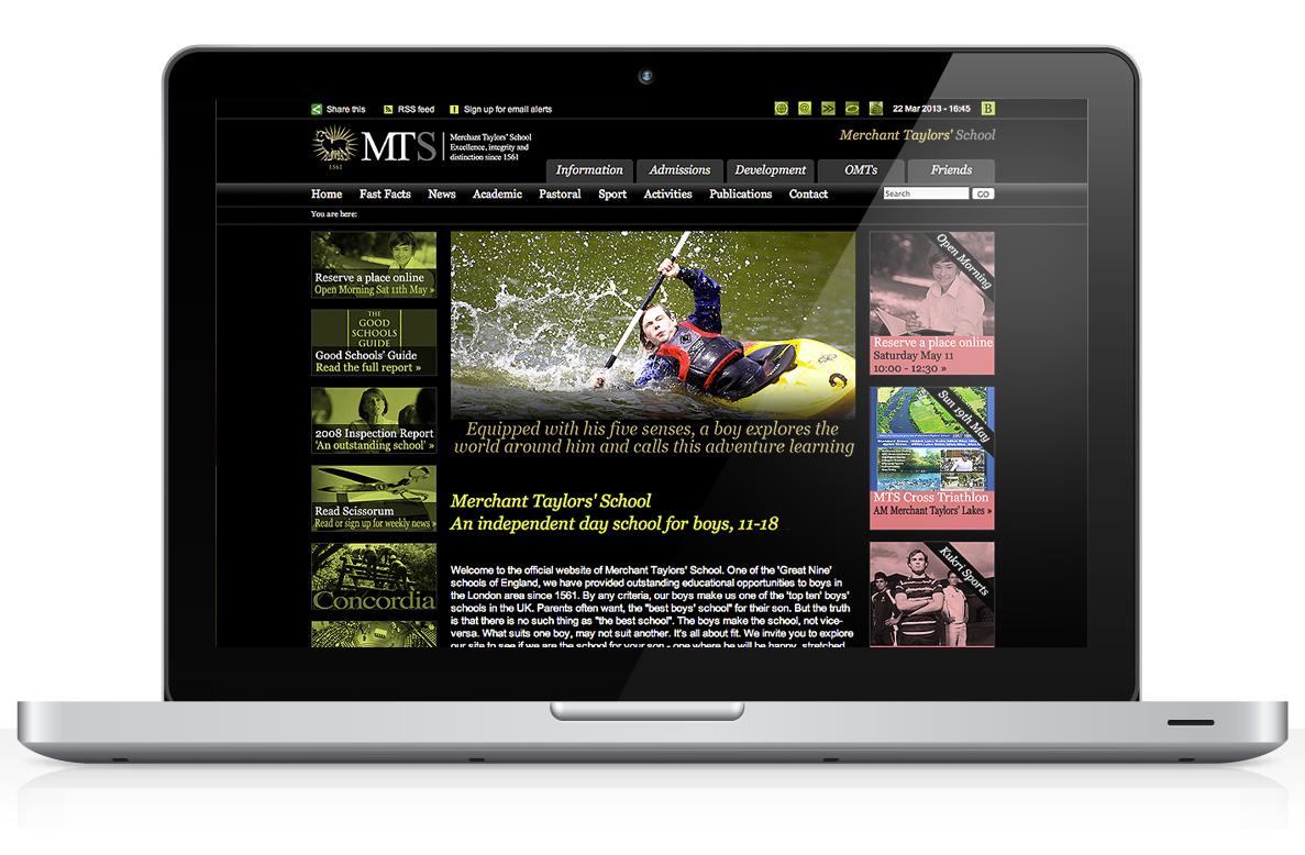 10x Great Examples Of School Website Designs