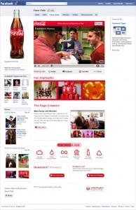 Facebook Coca-Cola Page