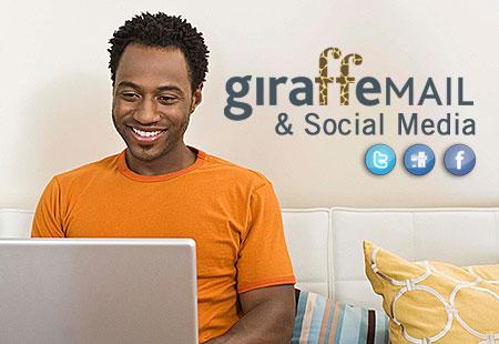 Giraffemail and Social Media