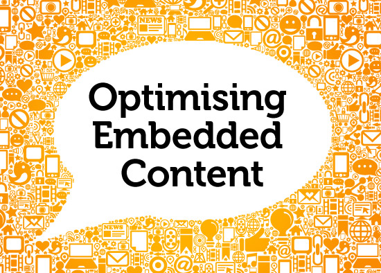 Optimising your embedded content - the MicroWay!